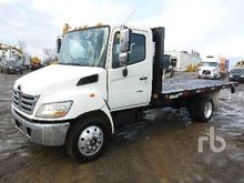 2009 hino 185 S/A Flatbed Truck