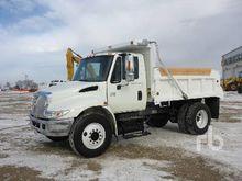 2008 Ford F550 4x4 Dump Truck (