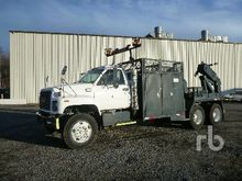 1997 Ford F800 S/A Reel Truck