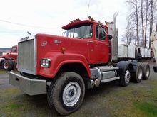 1984 Mack Dual Drive Truck Trac