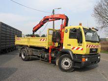 1998 MAN 18.224 Dumper truck wi