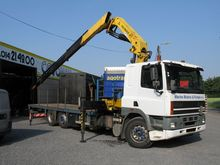 1996 DAF CF85.330 Car carrier c