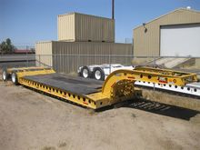 1973 COZAD Lowboy Trailers