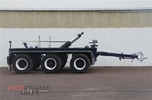 Custom Tri Axle Dolly with Cent