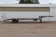 Custom Single Axle Drop Deck Se