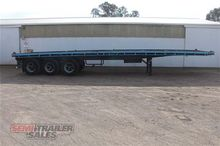 Freighter 40FT Flat Top Semi Tr