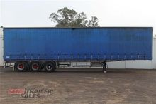 2002 Topstart Curtainsider Semi