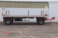 1990 Custom Two Axle Dog Traile