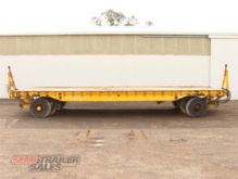 2007 Plan Low Loader Semi Trail
