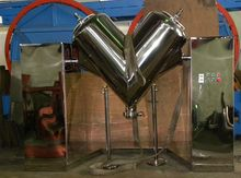 5 Cu Ft Stainless Steel V-Blend