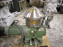 15 HP Westfalia Disc Centrifuge