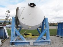 400 Cu Ft SS Double Cone Mixer