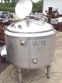 130 Gal Crepaco Stainless Steel