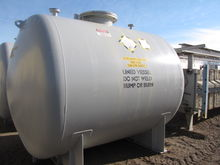 3420 Gal Rubber Lined Tank