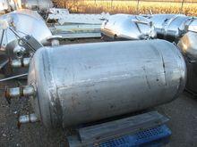 250 Gal Stainless Steel Pressur