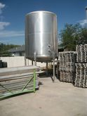 1500 Gal Stainless Steel Tank 1