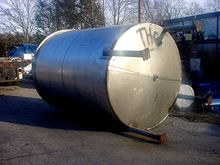 3000 Gal Unknown Stainless Stee