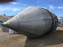 11000 Gal Stainless Steel Silo