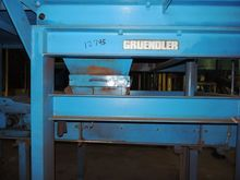50 HP Gruendler Crusher & Pulve