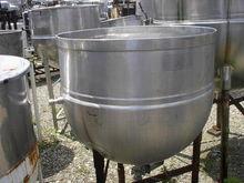 100 Gal Hubbert Stainless Steel