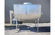 75 Cu Ft Jacketed SS Paddle Mix