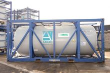 5283 Gal Argon Isotank T11 ISO