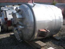 660 Gal Stainless Steel Tank 66