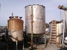 2000 Gal Unknown Stainless Stee