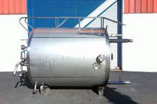1500 Gal Stainless Steel Tank 1