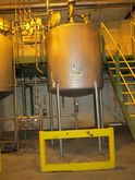 1000 Gal APV Stainless Steel Ta