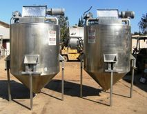 525 Gal Stainless Steel Tank 12