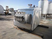 Gaulin G-90 125 HP Homogenizer