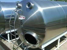 1250 Gallon Stainless Steel Tan