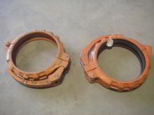 "Victaulic 8"" pipe clamp"