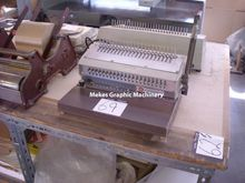 GBC punching and binding machin