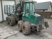 2004 forwarder Timberjack 1110D