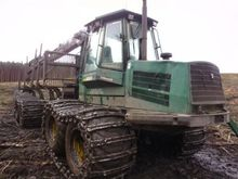 2004 forwarder Timberjack 1410D