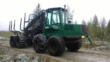 2004 forwarder Timberjack 1110