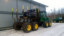 2001 forwarder Timberjack 1110