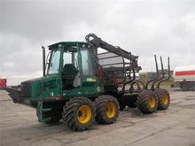 2002 Forwarder Timberjack 810 C