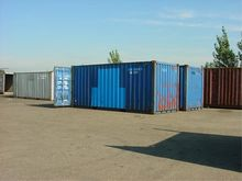 DIV. Zeecontainers