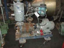 Sihi water ring vacuum pump.