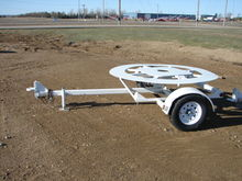 Spool Trailer Single Axle Other
