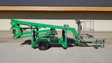 2007 JLG T350 Towable Boom Lift