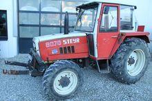 1980 Steyr 8070 A + FH+FZW
