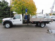 2013 Ford F-550 4x4 diesel with