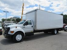 2007 Ford F-650 with 24ft FRP b