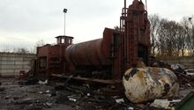 Lefort Scrap Baler with Bronneb