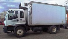 2007 GMC T7500 16' Reefer Truck