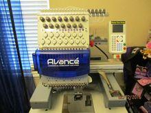 2015 Avance 1501C Embroidery Ma